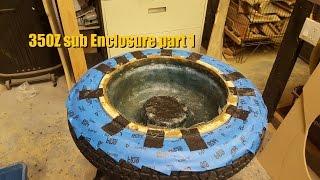 getlinkyoutube.com-Builds: 350Z Spare Tire sub Enclosure part 1