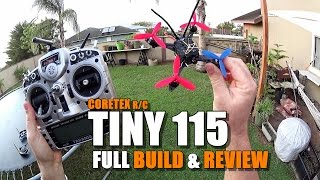 getlinkyoutube.com-CORETEXr/c TINY 115 + FPV Goggles - Full Review - [Unbox / Build / Flight-Water! Test / Pros & Cons]