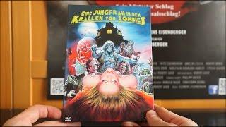 EINE JUNGFRAU IN DEN KRALLEN VON ZOMBIES (DT Blu-ray Mediabook) / Zockis Sammelsurium Nr. 468