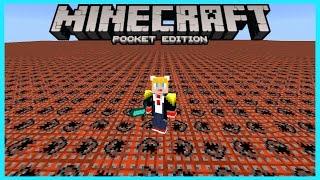 getlinkyoutube.com-มอดเปลี่ยนพื้นโลก(FLAT) FlatLayerGui Mod | Minecraft PE 0.14.0