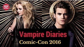 SDCC 2016: Candice King e Paul Wesley de The Vampire Diaries