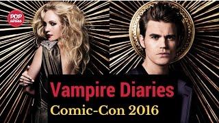 SDCC 2016: Candice King e Paul Wesley de The Vampire Diaries