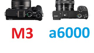 getlinkyoutube.com-Canon EOS M3 vs Sony α6000
