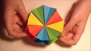 getlinkyoutube.com-How To Make an origami Magic circle