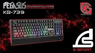 getlinkyoutube.com-REVIEW SIGNO E-SPORT SEMI MECHANICAL KEYBOARD PEGASUS KB-739