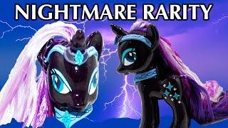 getlinkyoutube.com-Custom NIGHTMARE RARITY MLP Tutorial My Little Pony