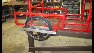 American Speedster Side-Kick - Part 11 - Install the Rear Brackets and Wheels