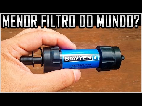 Filtro Sawyer Mini - Menor Filtro do mundo?