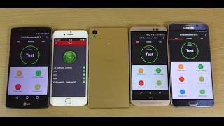 getlinkyoutube.com-Antutu Benchmark - Sony Xperia Z5 VS Note 5 VS iPhone 6s VS LG G4 VS HTC M9!