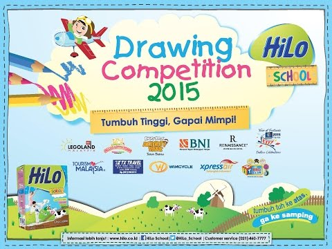 Tentang HiLo School Drawing Competition 2015