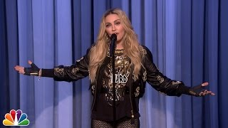 Madonna Makes Her Stand-Up Debut