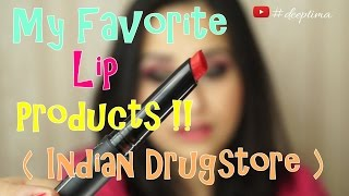 getlinkyoutube.com-My Favorite Indian Drugstore Lip Produts