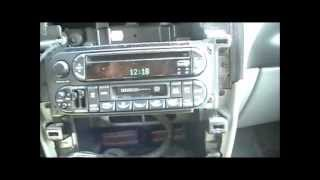 getlinkyoutube.com-How to connect and iPod iPhone interface to a Chrysler town and country Dodge Caravan
