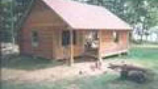 getlinkyoutube.com-log cabin project