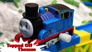 "getlinkyoutube.com-Tomy Plarail Thomas ""Topped Off Thomas"" トーマス プラレール ガチャガチャ トーマスとかぜ"