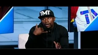 "getlinkyoutube.com-Floyd Mayweather responds to Ronda Rousey: ""When you make over $300 million in 36 min call me."""