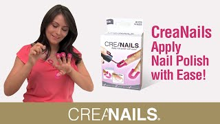 getlinkyoutube.com-CreaNails How to paint your nails at home ! DIY Perfect nails!