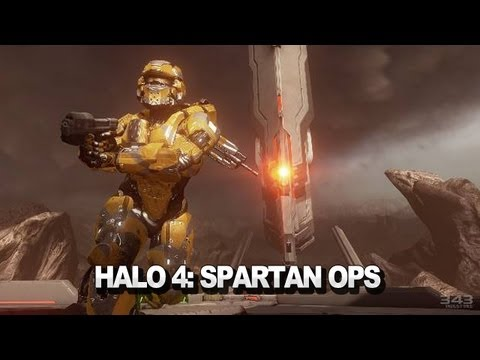 Halo 4 Spartan Ops Launch Trailer