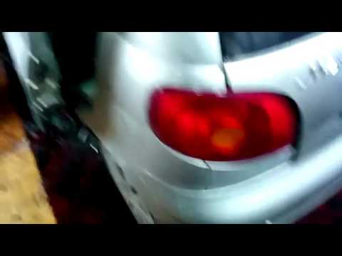 Ремонт кромок низа дверей Daewoo Matiz
