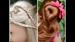 getlinkyoutube.com-American Girl Doll Hairstyles ~Inspired by Cutegirlshairstyles~
