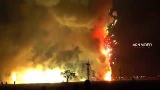 getlinkyoutube.com-Panthalloor Pooram Vedikettu 2016 Fireworks