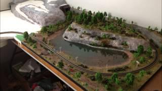 getlinkyoutube.com-One year of N scale model railroading!