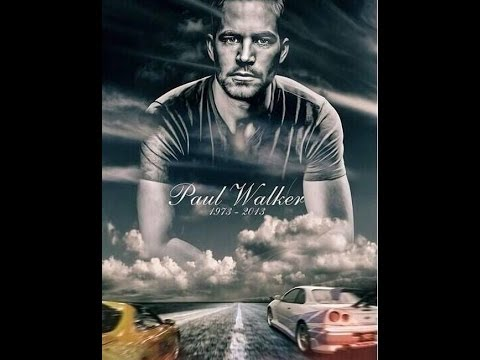 Homenagem - Paul Walker - e video do momento do acidente