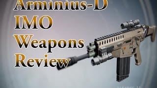 getlinkyoutube.com-Destiny: Arminius-D IMO Weapons Review Part 1 (PvP)