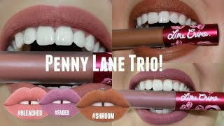 "getlinkyoutube.com-Lime Crime ""Penny Lane"" Collection! Swatch, Try On & First Impressions! 