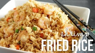 getlinkyoutube.com-How to Make Shrimp Fried Rice!! Chinese Fried Rice Recipe