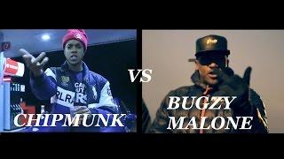 getlinkyoutube.com-Chipmunk vs Bugzy Malone All The Sends !!!