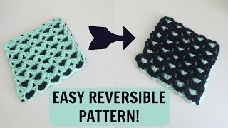 getlinkyoutube.com-Reversible Crochet Pattern