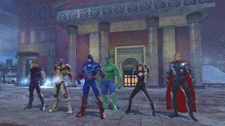 getlinkyoutube.com-[DCUO] : Team Flarrow - Avengers: Age of Ultron