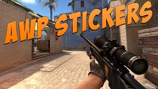 getlinkyoutube.com-CS:GO - Sticker Combinations: AWP