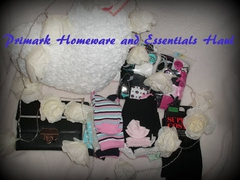 Primark Homeware and Essentials Haul