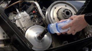 getlinkyoutube.com-Snowmobile clutch removal, water method - very easy!  PowerModz!
