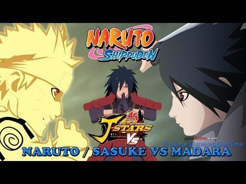 Naruto and Sasuke vs Madara - J-Stars Victory VS Jスターズ ビクトリーバーサス