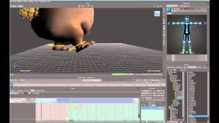 Looping Walk Cycle in MotionBuilder