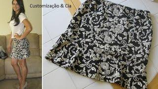getlinkyoutube.com-Saia com babado (Saia Trompete) by Customização & Cia