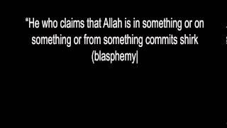Allah Exists Without a Place - Imam Ja^far As-Sadik