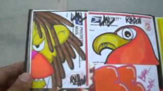 getlinkyoutube.com-WIZARDS BLACKBOOK STICKERS new blackbook