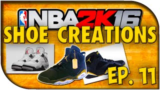 getlinkyoutube.com-NBA 2K16 Shoe Creations  - EP. 11 - Yeezy Boost 350s, Cement 4s, + More!