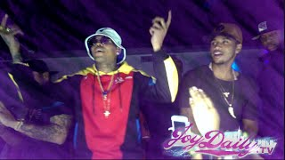 getlinkyoutube.com-Chris Brown Does Bobby Shmurda Dance and Performs with Trey Songz In NYC