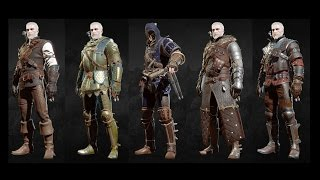 getlinkyoutube.com-The Witcher 3 Blood and Wine - All Grandmaster Witcher Gear Sets Showcase (Looks & Stats)