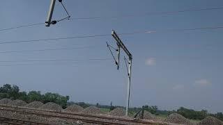 Sambalpur talcher road rail line electrified