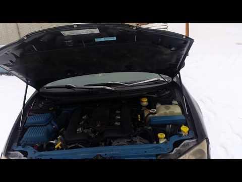 Амортизаторы капота на Chrysler 300m