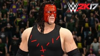 getlinkyoutube.com-WWE 2K17 - Xbox 360 / Ps3 Gameplay Extreme Rules Kane vs Kalisto