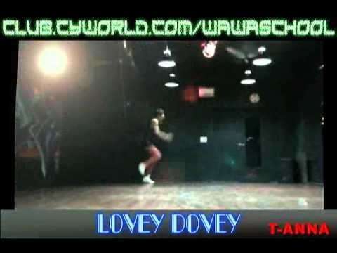 WAWA DANCE ACADEMY T-ARA LOVEY DOVEY DANCE STEP MIRRORED MODE