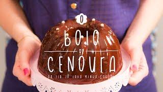 getlinkyoutube.com-Bolo de Cenoura | A Doce Cozinha de Dani Noce #03