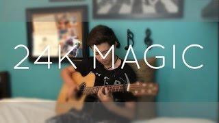 getlinkyoutube.com-Bruno Mars - 24K Magic - Cover (Fingerstyle Guitar)